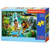 PUZZLE 120EL. JUNGLE BOOK
