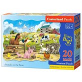 PUZZLE 20EL.MAXI ANIMALS FARM