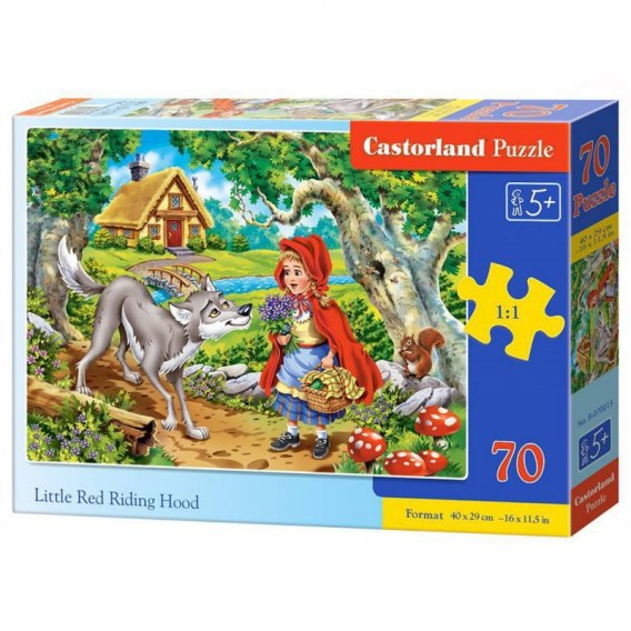 PUZZLE 70 RED RIDING HOOD